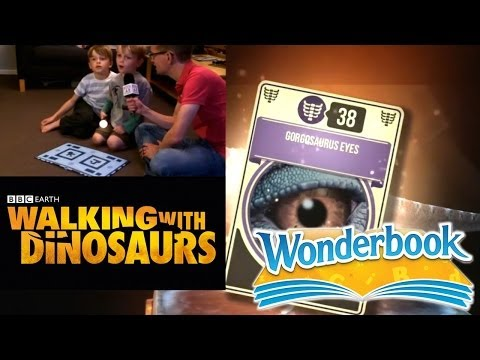 PS3 Wonderbook's BBC Walking With Dinosaurs – Let's Play Chapter 1b