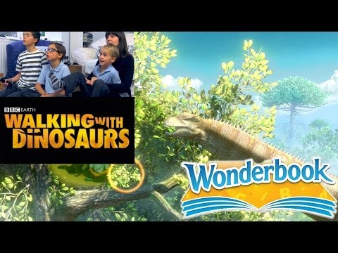 PS3 Wonderbook's BBC Walking With Dinosaurs – Let's Play Chapter 2a