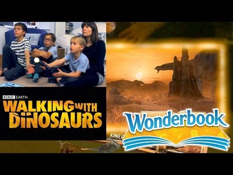 PS3 Wonderbook's BBC Walking With Dinosaurs – Let's Play Chapter 2b