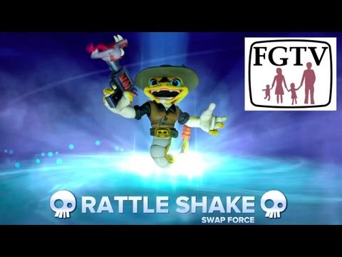 Rattle Shake Swap Force PS4 Game-Play and Hands-On from Gamescom - YouTube thumbnail