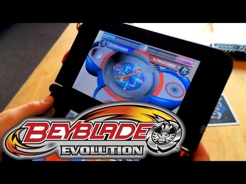 Review: Beyblade Evolution 3DS Limited Collectors Edition – Augmented Reality Game-Play - YouTube thumbnail