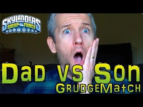 Saturday Grudge Match #13 – Dad & Son Swap Force Battle: Legendary Trigger Happy vs Leg Jet Vac - YouTube thumbnail