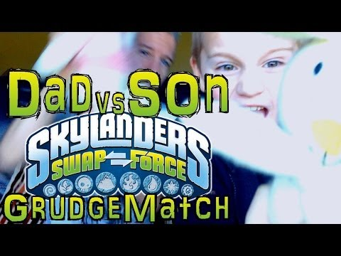 Saturday Grudge Match #5 – Dad & Son Swap Force Battle: Enchanted Hoot Shift vs Boom Loop - YouTube thumbnail