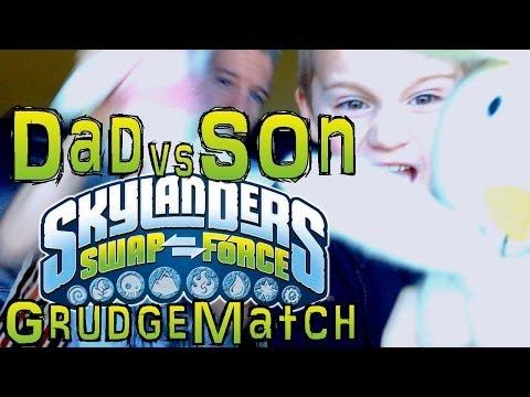 Saturday Grudge Match #5 – Dad & Son Swap Force Battle: Enchanted Hoot Shift vs Boom Loop - YouTube thumbnail