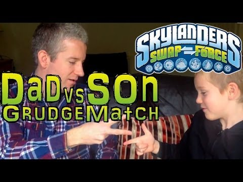 Saturday Grudge Match #9 – Dad & Son Swap Force Battle: Shroomboom vs Pop Fizz - YouTube thumbnail