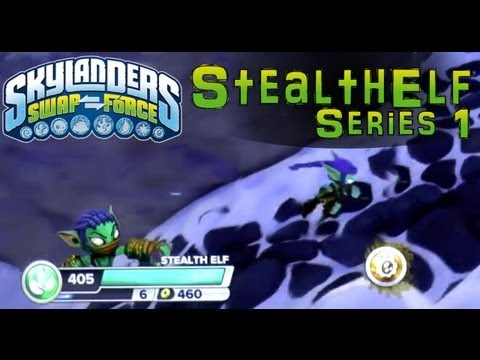 Series 1 Stealth Elf in Skylanders Swap Force – Close Look At Fresh Rendering Of Classic Character - YouTube thumbnail