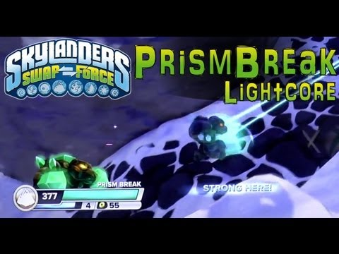 Series 2 Lightcore Prism Break in Skylanders Swap Force – Close Look At Fresh Rendering - YouTube thumbnail