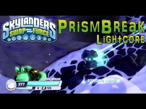 Series 2 Lightcore Prism Break in Skylanders Swap Force – Close Look At Fresh Rendering - YouTube thumbnail