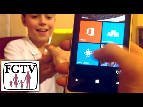 Set Up Kid's Corner on Windows Phone 8 - YouTube thumbnail