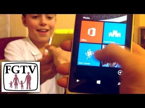 Set Up Kid's Corner on Windows Phone 8 - YouTube thumbnail