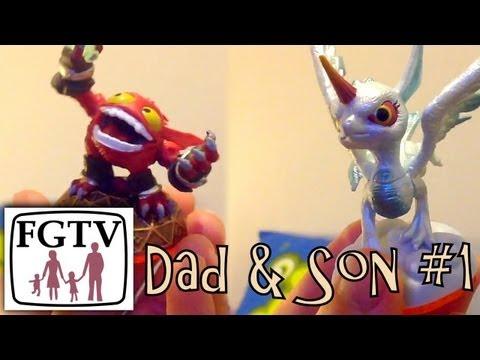 Skylanders Dad & Son Battle – Punch Pop Fizz vs Polar Whirlwind on Cube Dungeon - YouTube thumbnail