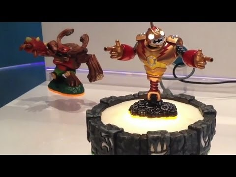 Skylanders Giants Bouncer and Crusher Revealed at E3 - YouTube thumbnail