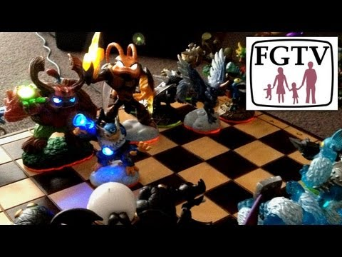 Skylanders Giants Chess-Set is Light-Core Powered (Solves Swap Force Portal Redundancy) - YouTube thumbnail