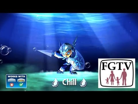 Skylanders Giants Chill HD Trailer - YouTube thumbnail