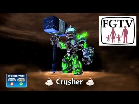 Skylanders Giants Crusher HD Trailer - YouTube thumbnail