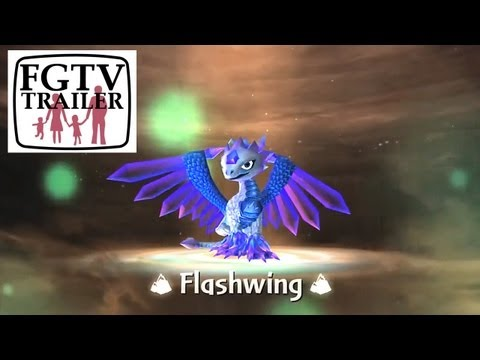 Skylanders Giants Flashwing HD Trailer - YouTube thumbnail