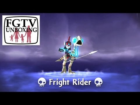 Skylanders Giants Fright Rider HD Trailer - YouTube thumbnail
