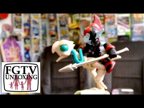 Skylanders Giants Fright Rider Unboxing (FGTV 2.29) - YouTube thumbnail