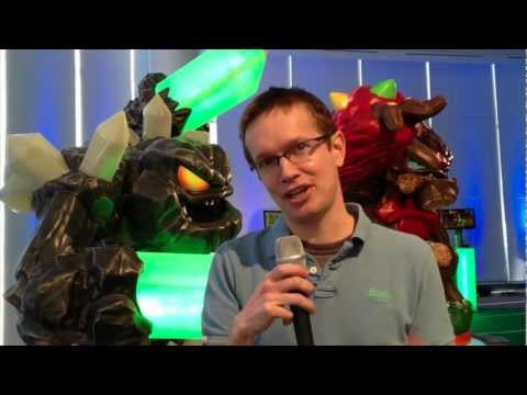 Skylanders Giants Hands On (FGTV 1.25) - YouTube thumbnail