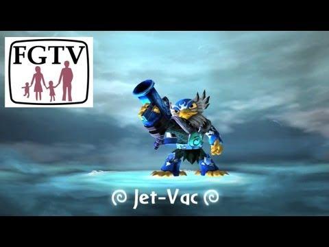 Skylanders Giants Jet Vac HD Trailer - YouTube thumbnail