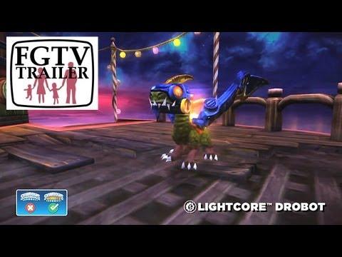 Skylanders Giants Lightcore Drobot HD Trailer - YouTube thumbnail
