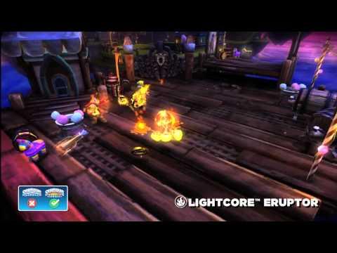 Skylanders Giants Lightcore Eruptor HD Trailer - YouTube thumbnail