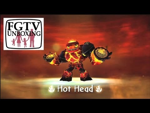 Skylanders Giants Lightcore Hot Head HD Trailer - YouTube thumbnail