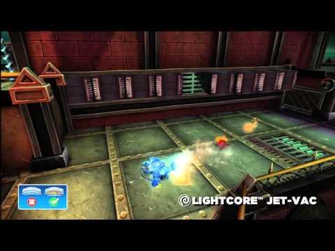 Skylanders Giants Lightcore Jet Vac HD Trailer - YouTube thumbnail