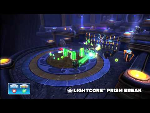 Skylanders Giants Lightcore Prism Break HD Trailer - YouTube thumbnail