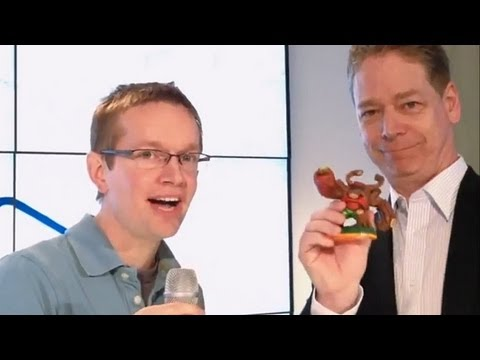 Skylanders Giants Series 2 LightCore Figure Interview (FGTV 1.26) - YouTube thumbnail