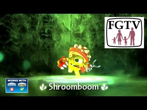 Skylanders Giants Shroomboom HD Trailer - YouTube thumbnail