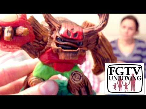 Skylanders Giants Starter Pack Unboxing, Treerex, Game and new Portal (FGTV 2.42) - YouTube thumbnail