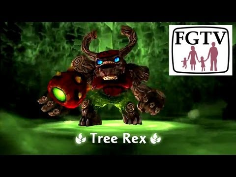 Skylanders Giants Tree Rex HD Trailer - YouTube thumbnail