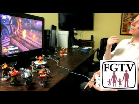 Skylanders Giants Wave 1 Character Play Through with Paul Reiche (FGTV 2.36) - YouTube thumbnail