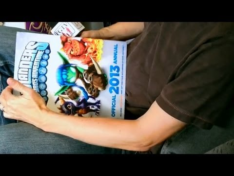 Skylanders Hot Dog, Eye Brawl, Thumpback, Ninjini and New Books (FGTV 2.19) - YouTube thumbnail