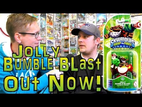 Skylanders Jolly Bumble Blast OUT NOW in Smyths and Target Soon - YouTube thumbnail