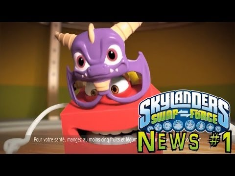 Skylanders News #1: Swap Force McDonalds Toys and Wave 3 hits Europe
