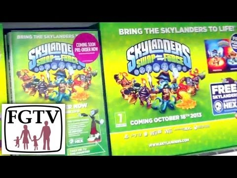 Skylanders Swap Force & Disney Infinity Pre-Order Retail Update (Part 2) – Purple & Dark Skylanders - YouTube thumbnail