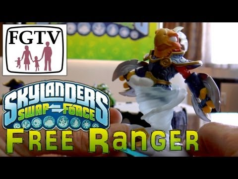 Skylanders Swap Force Free Ranger – Hands-On Gameplay (6 of 6) - YouTube thumbnail