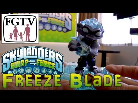 Skylanders Swap Force Freeze Blade – Hands-On Gameplay (5 of 6) - YouTube thumbnail