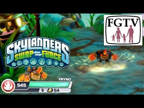 Skylanders Swap Force Fryno – Hands-On Gameplay (7 of 7) - YouTube thumbnail
