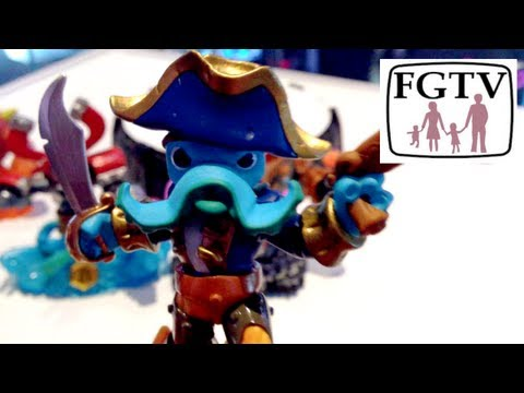 Skylanders Swap Force Gameplay for Magna Charge, Wash Buckler and Blast Zone - YouTube thumbnail