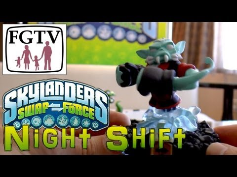 Skylanders Swap Force Night Shift – Hands-On Gameplay (2 of 6) - YouTube thumbnail