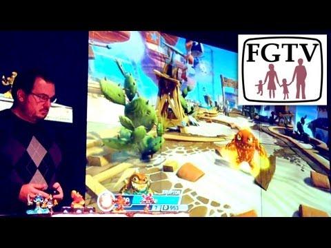Skylanders Swap Force Play Through (Part 1) - YouTube thumbnail