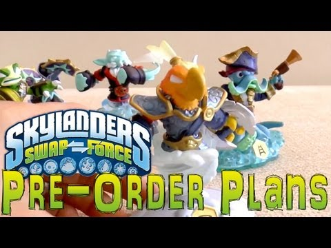 Skylanders Swap Force Pre-Order Analysis of Swap Zones & Elemental Gates - YouTube thumbnail