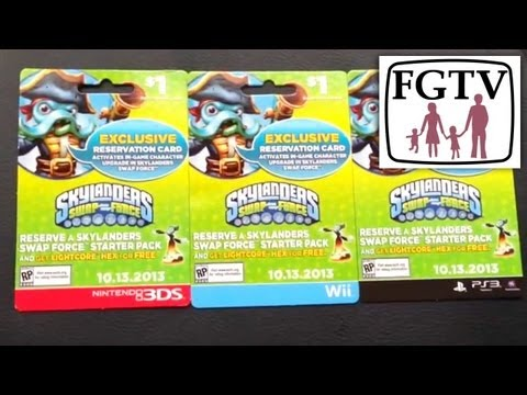 Skylanders Swap Force Retail Update, Collecting, Swapping and Pre-Order Tips (Part 4) - YouTube thumbnail