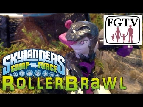 Skylanders Swap Force Roller-Brawl – Gameplay Hands-On at E3 - YouTube thumbnail