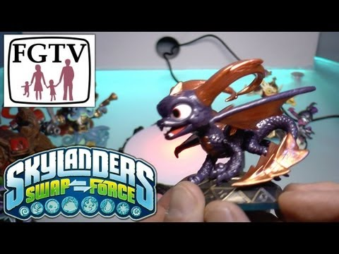 Skylanders Swap Force Spyro Series 3 – Hands-On Gameplay (8 of 10) - YouTube thumbnail