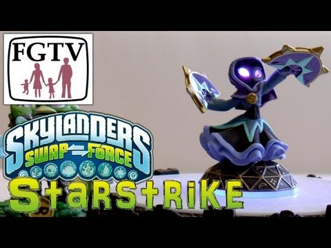 Skylanders Swap Force Starstrike Lightcore – Hands-On Gameplay (1 of 6) - YouTube thumbnail