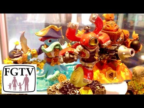 Skylanders Swap Force Starter Pack Hands-On - YouTube thumbnail
